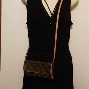 Louis Vuitton cross body clutch